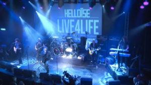 Ben Blue's hardrockband Helloise gaf in 2013 een reunieconcert in de Boerderij in Zoetermeer