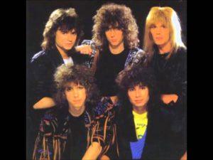 Helloise, de hardrockband uit de jaren 80 met o.a. zanger gitarist Ben Blue. Live muziek voor een bruiloft? Ben's Bookings.