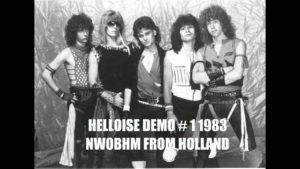 Helloise, de hardrockband uit de jaren 80 met o.a. zanger gitarist Ben Blue. Live band voor een feestje? Ben's Bookings.
