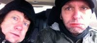 Big Bucks & Easy Money in een ijskoude auto.bandje gezocht voor de huiskamer? Huur een duo bij Ben's Bookings. Live muziek voor elk feest.