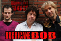 Blues en bluesrock van de topband Hurricane Bob is te boeken bij Ben's Bookings.