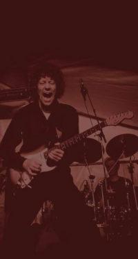 Rock en blues band Hurricane Bob, met Ben Blue, Ocki Klootwijk en Arie Verhaar.