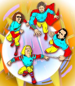 K'BAM! De akoestische rockband. band gezocht voor tuinfeest? Gitaarmuziek, pop, rock, covers, blues, jazz, funk, soul. Akoestische band.