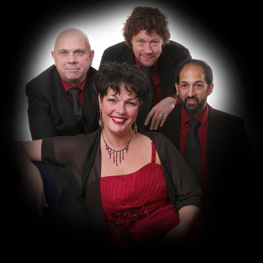 Jazz combo Madame Jeanette & the Peppers. bandje boeken voor muziekcafé? Dit jazz, easy listening, lounge en close harmony combo is te boeken bij Ben's Bookings.
